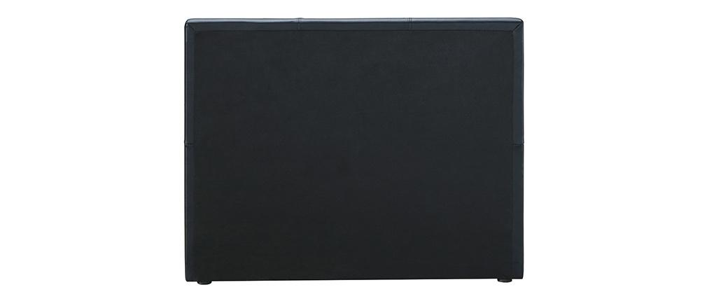 Cama nido 90 x 195 cm negro mate MACCO