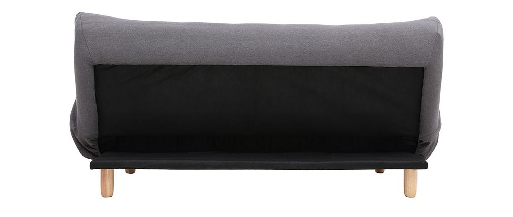 Canapé convertible scandinave gris foncé YUMI