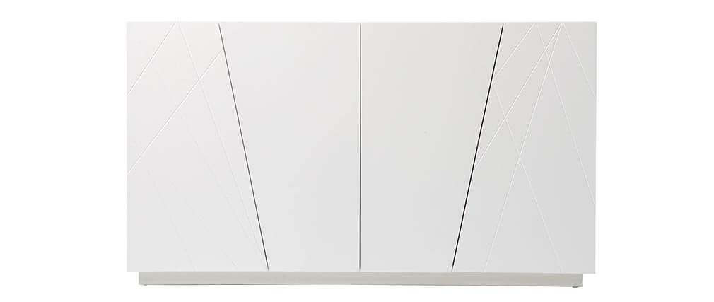 Cómoda diseño lacado blanco mate ALESSIA
