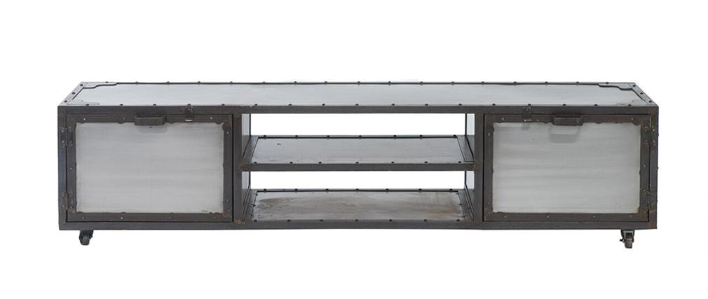 Cómoda / mueble cajonero industrial metal FACTORY XL