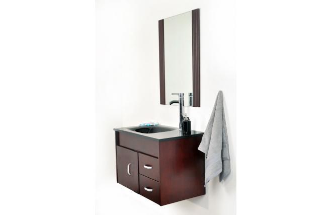 Conjunto de muebles de cuarto de ba o canberra lavabo for Muebles para debajo del lavabo