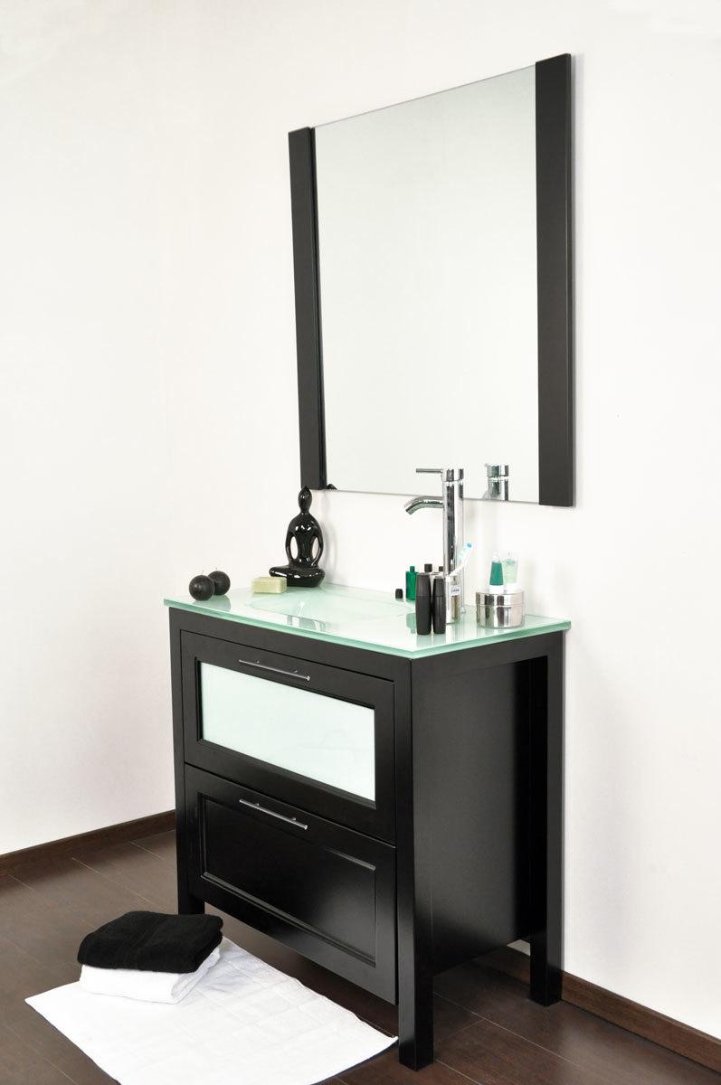 Conjunto de muebles de cuarto de ba o gladstone lavabo for Muebles cuarto de bano