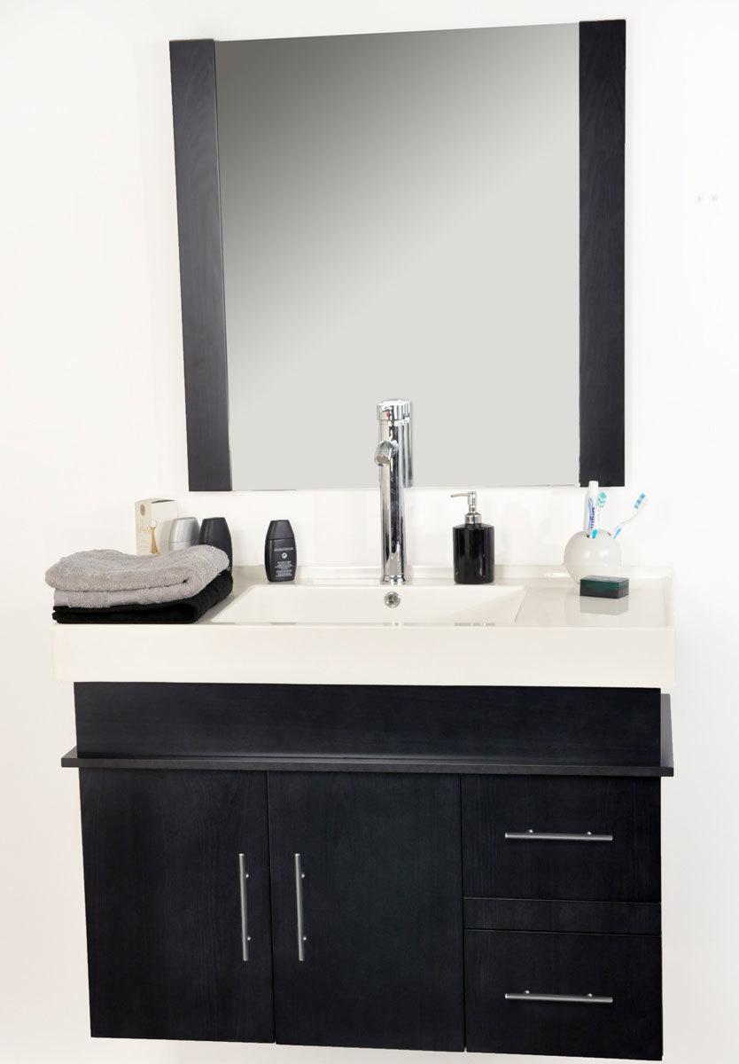 Conjunto de muebles de cuarto de ba o mandurah lavabo for Muebles para debajo del lavabo