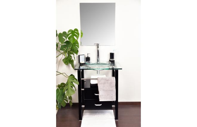 Conjunto de muebles de cuarto de ba o sunbury lavabo for Muebles para debajo del lavabo