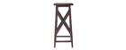 Consola alta estilo industrial de madera y metal ATELIER