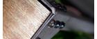 Consola estilo industrial de metal y madera ATELIER