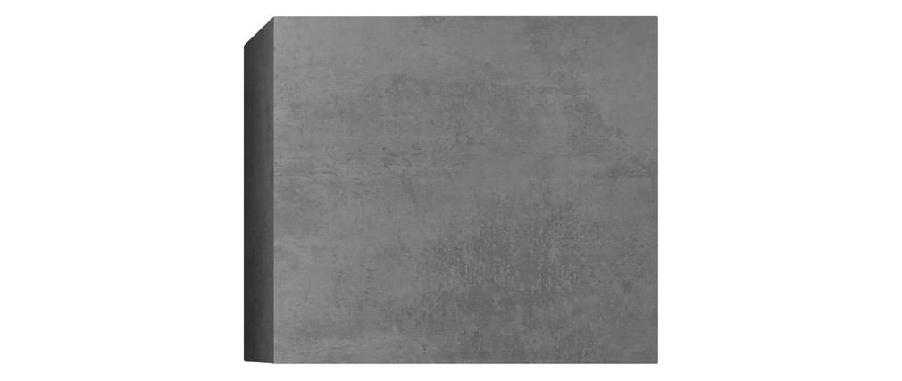 Elemento de pared cuadrado acabado cemento ETERNEL