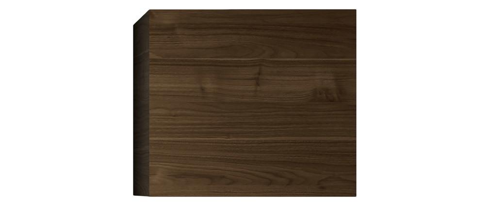 Elemento de pared cuadrado acabado madera oscura ETERNEL