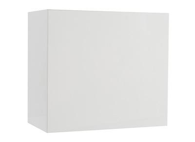 Elemento mural COLORED cuadrado lacado blanco