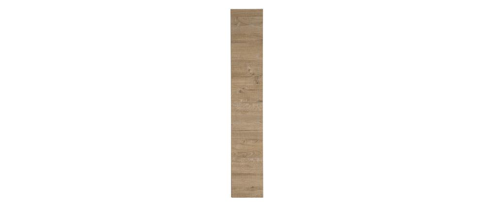 Elemento mural diseño madera miel vertical COLORED V2