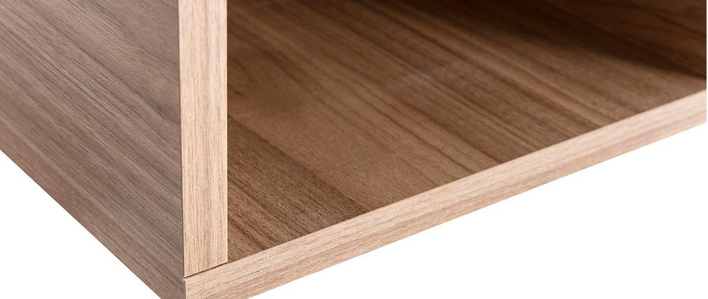 Elementos de pared cuadrados acabado madera clara (lote de 2) ETERNEL