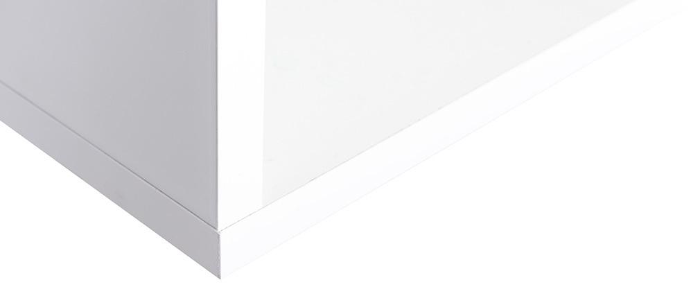 Elementos de pared cuadrados lacado blanco (lote de 2) ETERNEL