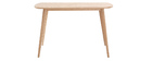 Escritorio escandinavo 120 cm madera SWIFT