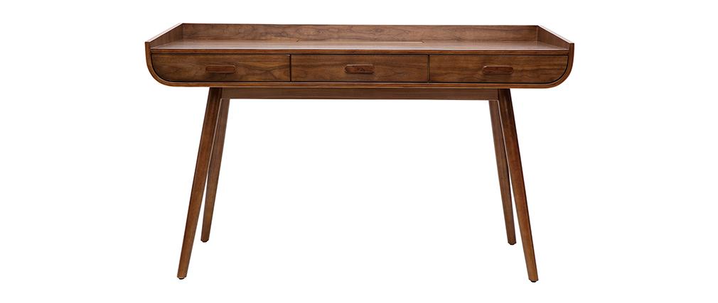 Escritorio vintage madera nogal HALLEN