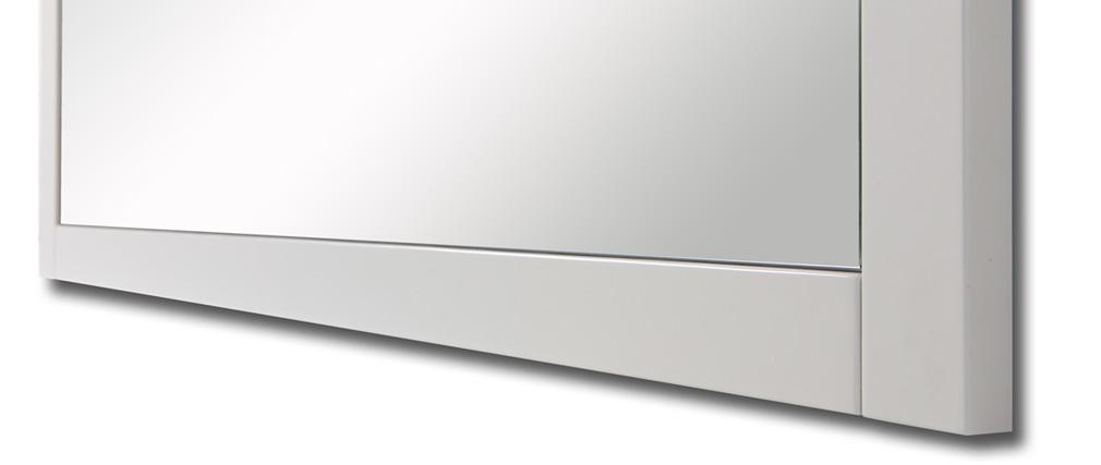 Espejo de diseño blanco SIGRID