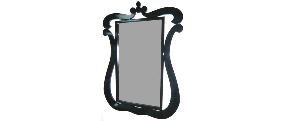 Espejo mural LOUISA - color negro