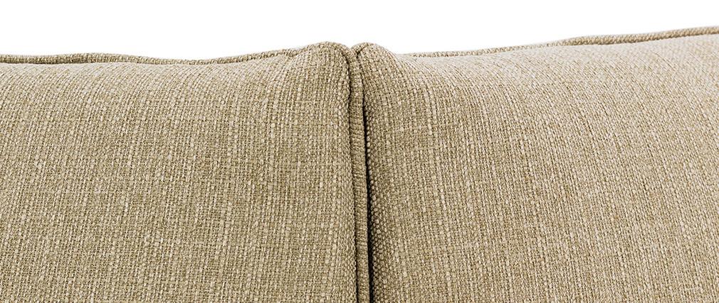 Esquina de sofá moderno tejido topo MODULO