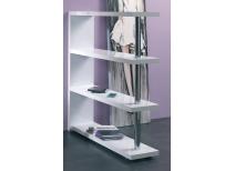 Estanter as y bibliotecas de dise o almacenamiento barato miliboo - Estanteria blanca lacada ...