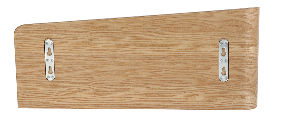 Estantería de pared fresno 70 cm NORDECO