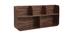 Estantería de pared madera nogal HALLEN