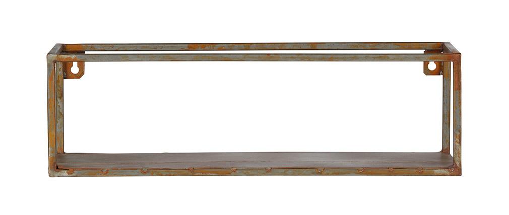 Estantería de pared metal envejecido 50cm MOHO