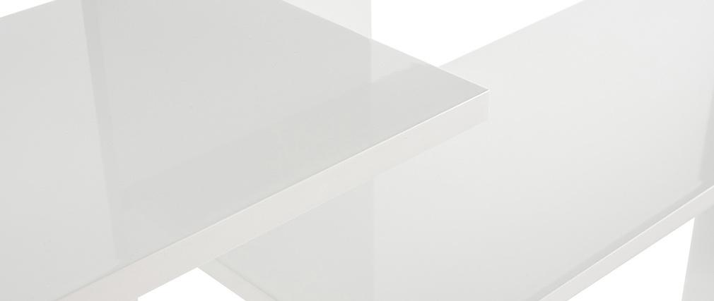 Estantería diseño lacado blanco VIXY