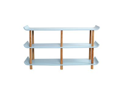 Rebajas biblioteca y estanter as muebles de dise o y for Estanterias estilo escandinavo