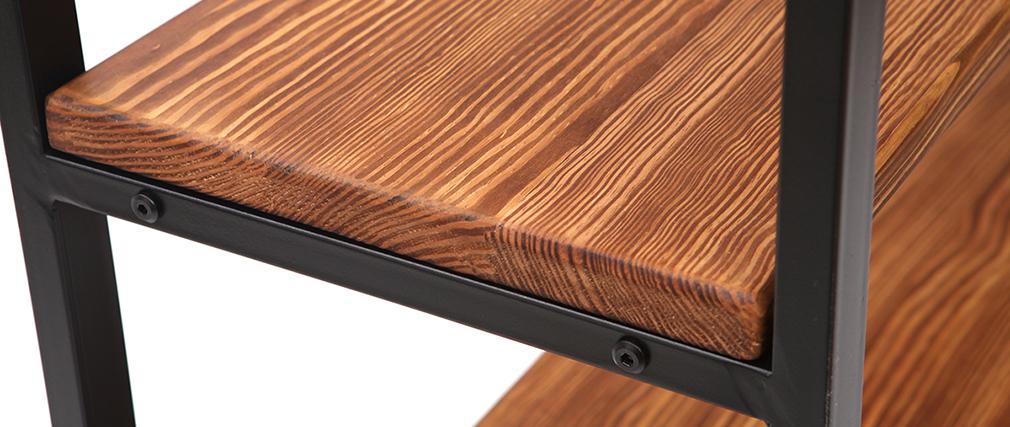 Estantería industrial metal y madera ARISTOTE