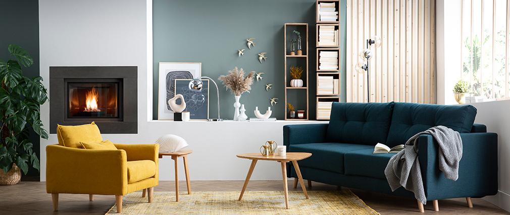 Estantería mural industrial mango YPSTER
