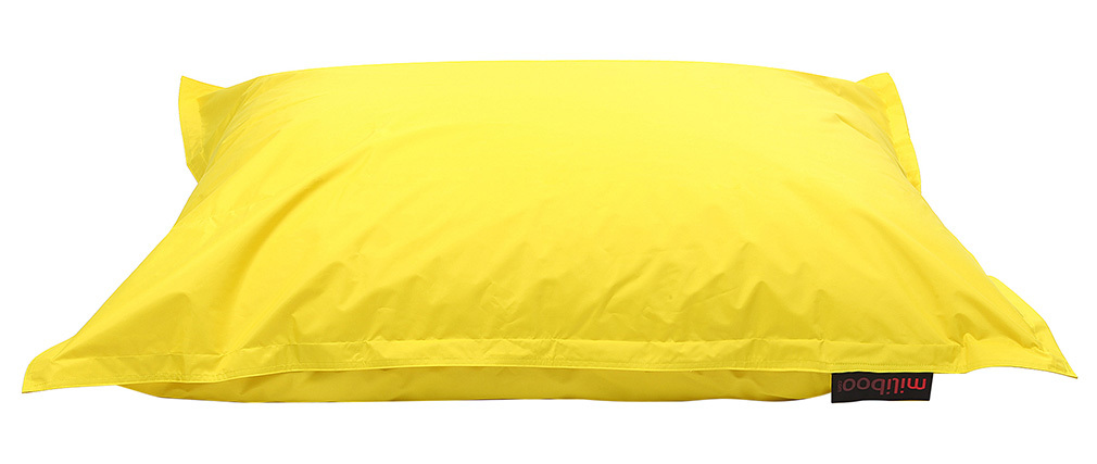 Funda de puff gigante amarillo BIG MILIBAG
