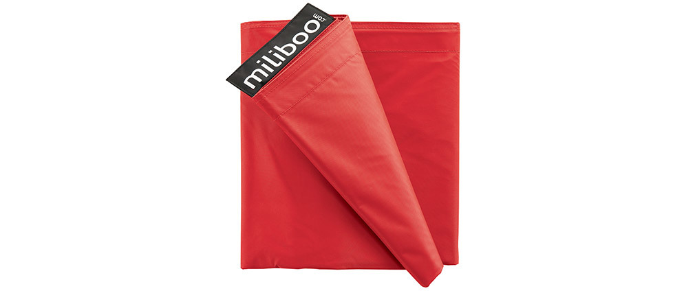 Funda de puff gigante rojo BIG MILIBAG