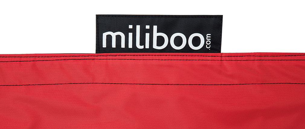 Funda negra y roja BIG MILIBAG