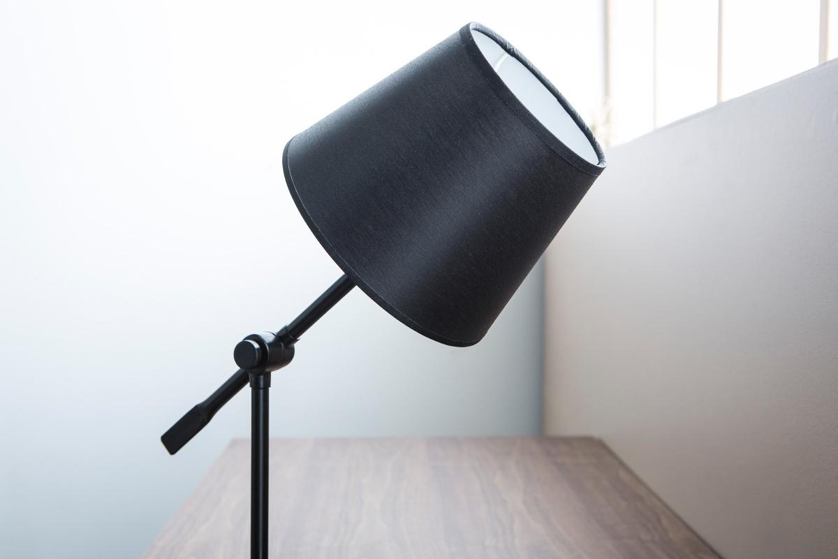 Diseño Acero Lámpara De Miliboo Negra Articulada Lucio Mesa 4cALq35Rj