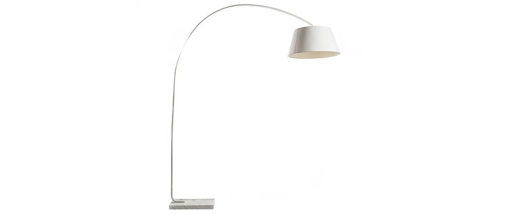 Lámpara de pie con base en mármol LIS