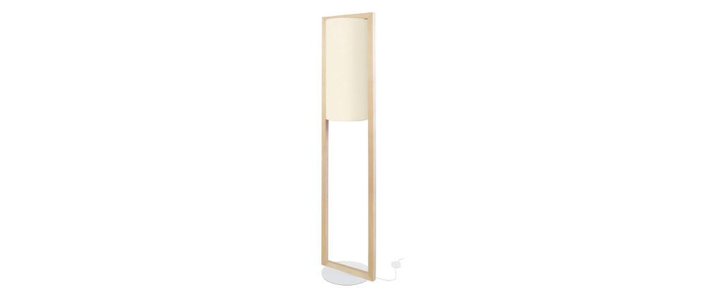 Lámpara de pie moderna en madera A165 cm HATHA