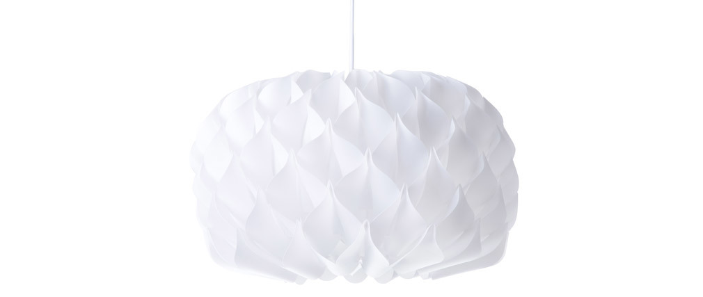 Lámpara de techo blanca RUCHE