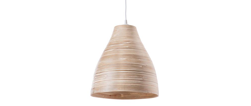 Lámpara de techo bohemia bambú D40cm SELVA