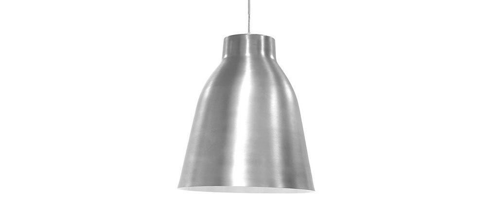 Lámpara de techo cromado de diseño COROLA L