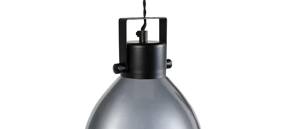 Lámpara de techo diseño metal cromado HOMER