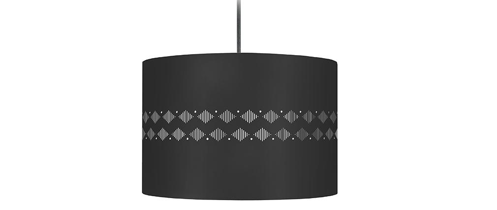 Lámpara de techo diseño negra SMART