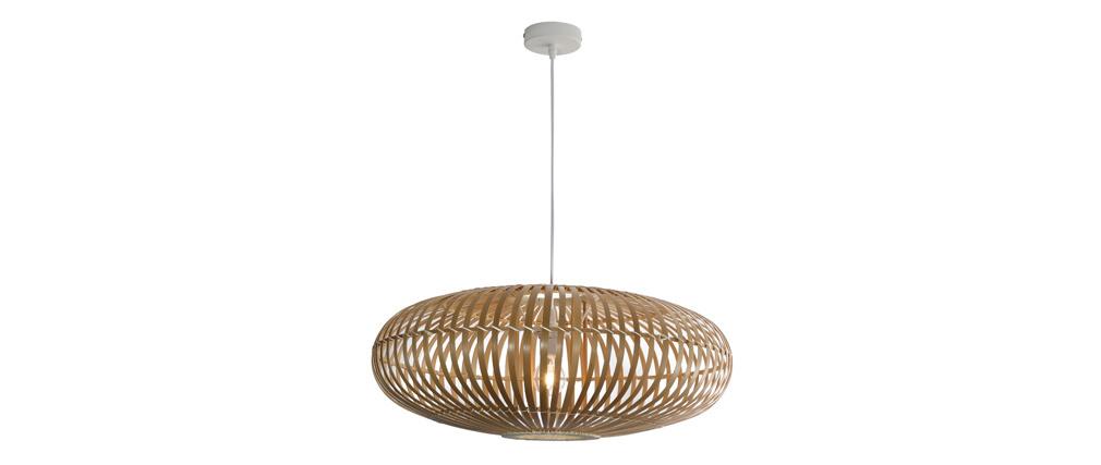 Lámpara de techo en bambú D60 cm KANA