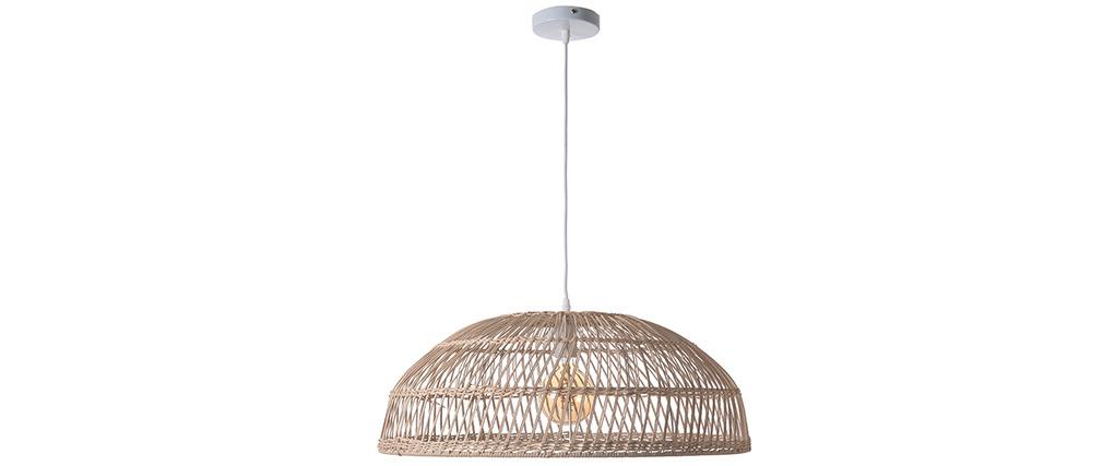 Lámpara de techo en ratán D60 cm KOTAO