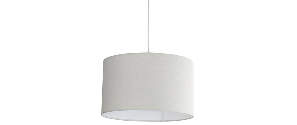 Lámpara de techo en yute D35 cm NIL