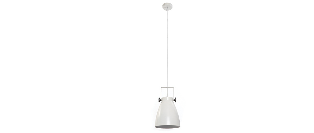Lámpara de techo industria blanco LOWIE