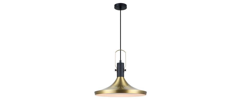 Lámpara de techo metal dorado D36cm TUBAE