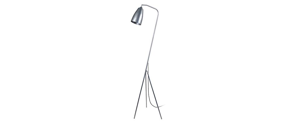 Lámpara diseño trípode acero cromada FRIDAY