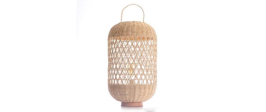 Lámpara en ratán MOOREA