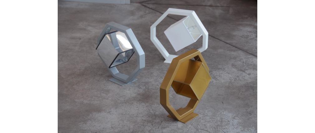 Lámpara pequeña de mesa diseño EQUALIZER Rosa