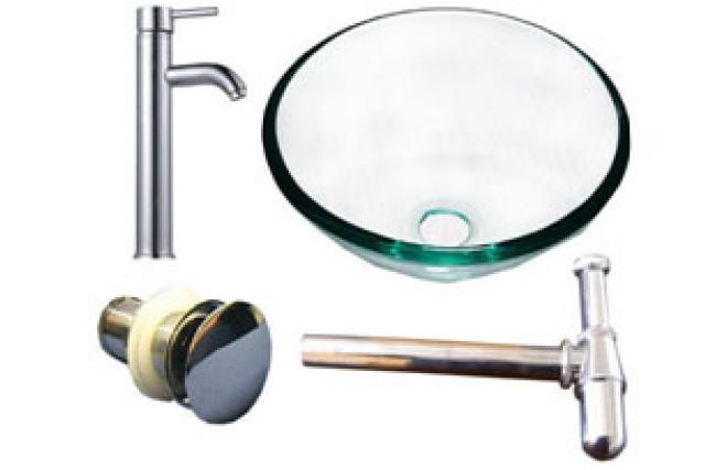 Lavamanos de cuarto de ba o de cristal tropic miliboo for Lavamanos cristal