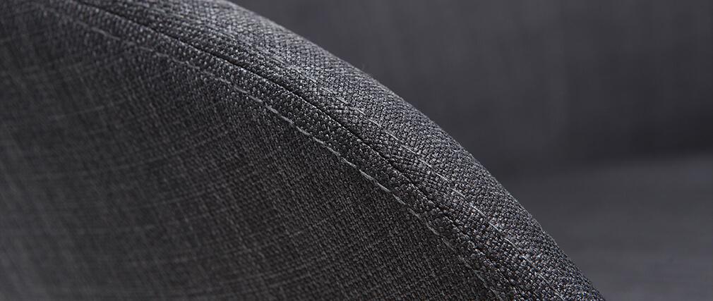 Lote de 2 butacas diseño gris DALIA